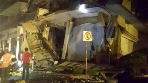 Aumenta a 32 el número de muertos causados por el terremoto que sacudió México este jueves