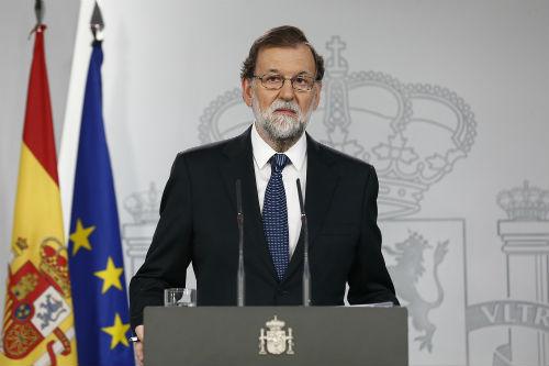 """#1Oct Rajoy, """"hemos sido un ejemplo para el mundo"""""""