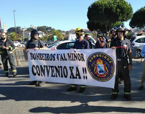 O persoal do GES do Val Miñor mobilízase contra a precariedade laboral