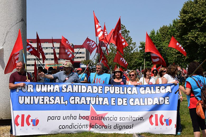 @CIGSaude mantén a convocatoria de folga na sanidade galega para os días 2 e 3 de novembro
