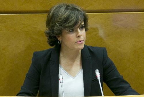 @Sorayapp es la 'nueva presidenta' de la Generalitat