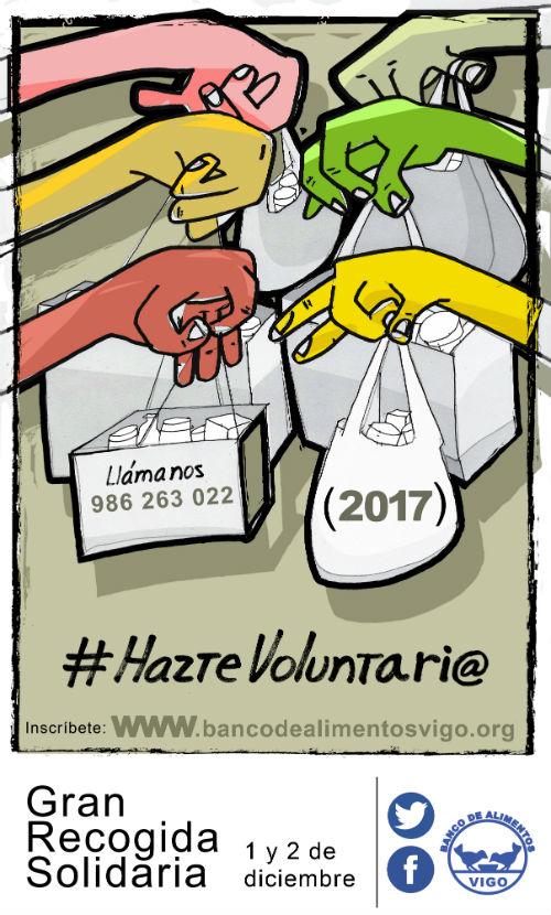 @BcoAlimentosVgo necesita 2.000 voluntarios para su Gran Recogida Solidaria del 1 y 2 de diciembre
