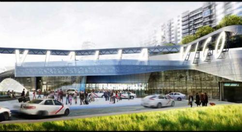 Concello, Adif e Xunta, dacordo na construción da Estación do AVE de Thom Mayne e dos seus accesos