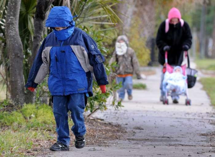 Frío durante lo que queda de semana con temperaturas que no subirán de 13º y nieve a 700 metros