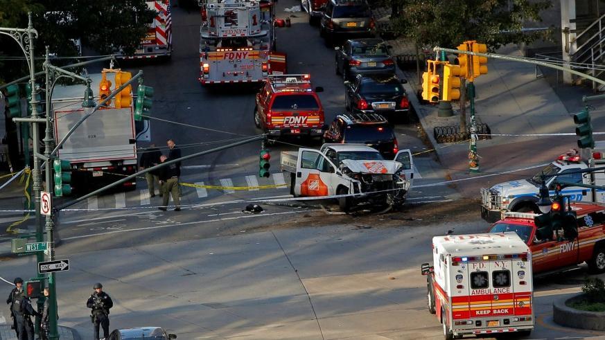 No  hay víctimas españolas entre los 8 asesinados en el atentado de este martes en Nueva York
