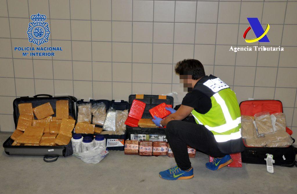 Intervenidos 331 kilos de heroína en una de las mayores incautaciones de esta droga que se ha producido en España