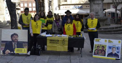 @amnistiaespana organiza en Vigo la campaña # personasxpersonas en apoyo de las víctimas de las violaciones de los derechos humanos