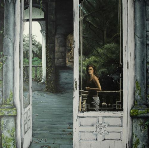 La pintora Cinhalam presenta su nueva exposición titulada 'La historia detrás del cuadro'