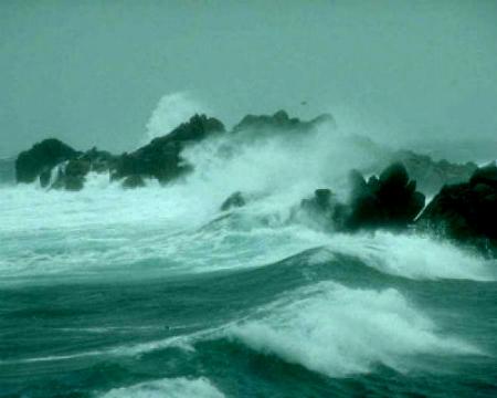 Alerta laranxa nas provincias de A Coruña e Lugo e amarela na de Pontevedra, este xoves por temporal na costa