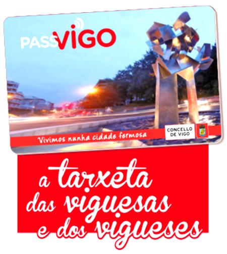 Desde este lunes ya puedes solicitar 'PASSVIGO', la tarjeta que te permitirá el acceso a todos los servicios públicos municipales