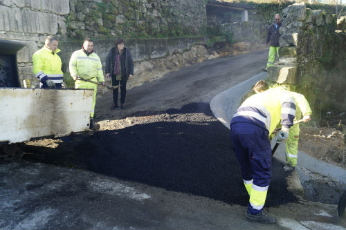 O Concello de Redondela remata a mellora do Camiño da Fonte de Saramagoso, na parroquia de O Viso