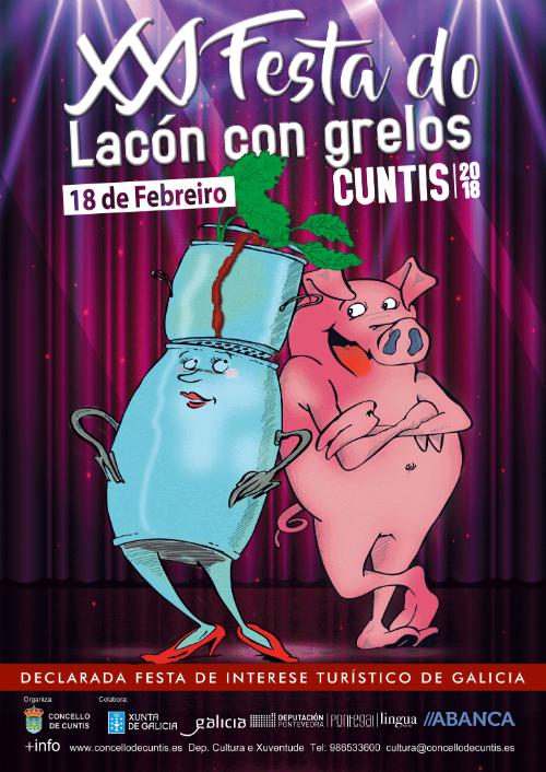 ¿Preparado para a Festa do Lacón con grelos de Cuntis?