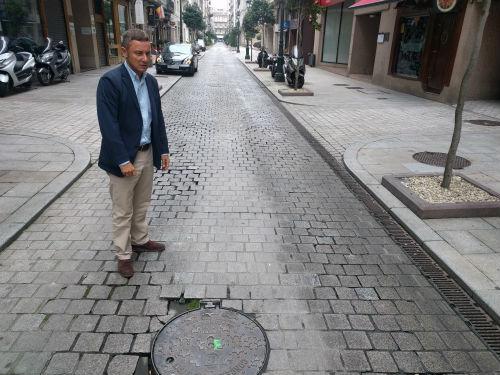"""El PP """"celebra"""" que se humanice la Praza de Compostela y critica que no se haga también con Carral o Luis Taboada"""