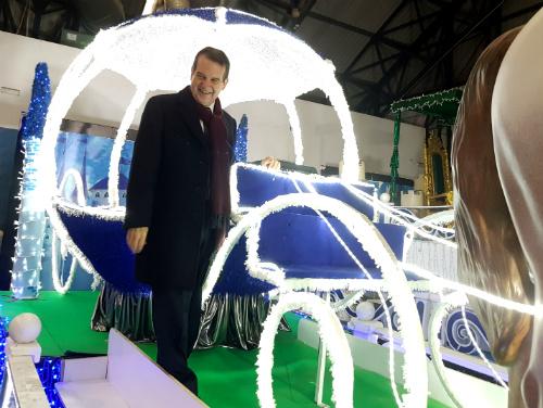 """La """"mejor Cabalgata que ha visto Europa en su historia"""" saldrá mañana en Vigo a las 6 de la tarde"""