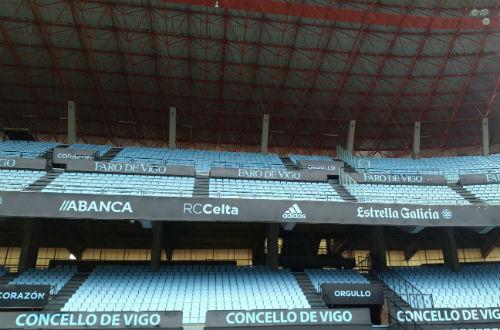 La cubierta de Río 'tapará' este jueves a los espectadores que vayan a Balaídos a ver el Celta-Barça