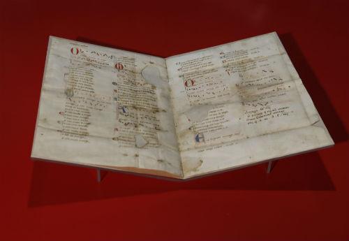 Máis de 35.000 persoas visitaron xa o Pergamiño Vindel no Museo do Mar de Vigo