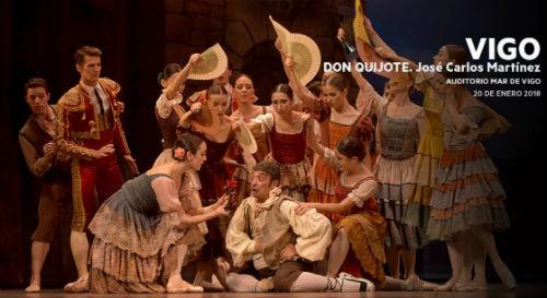 La Compañía Nacional de Danza, el 20 de enero en el Mar de Vigo en una única representación de 'Don Quijote'