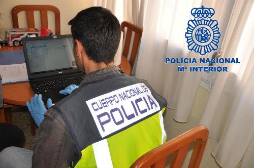 Un sujeto vecino de Pontevedra entre los 40 detenidos en toda España por intercambiar material pedófilo