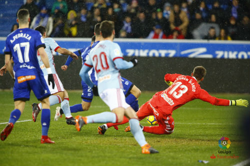 El Celta no tuvo su tarde y se vuelve de vacío tras caer frente al Alavés (2-1)