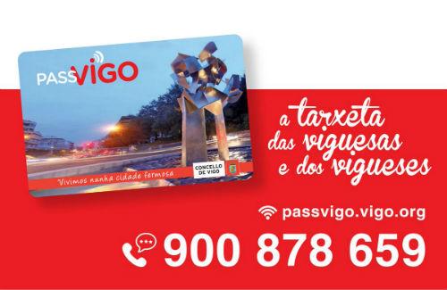 O Concello xa enviou 73.431 traxetas Passvigo, 20.000 delas para pensionistas que collen o Vitrasa gratis