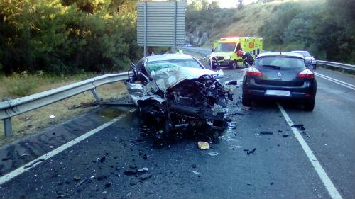 Menos mortos que hai un ano nas estradas de Galicia