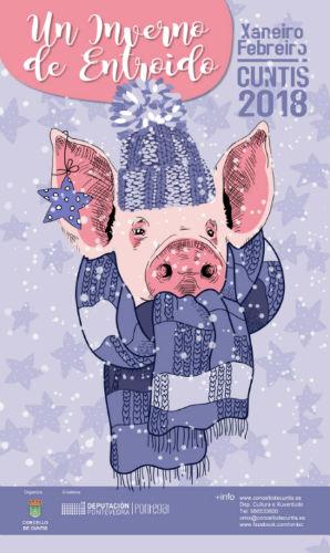 Cuntis pon rumbo á 'XXI Festa da Lacón con grelos' abrigándose en 'Un inverno de Entroido'