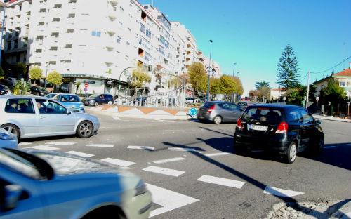 As sete 'turboglorietas' que funcionan en Vigo reduciron a siniestralidade nun 55%