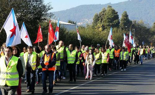 O persoal de Maderas Iglesias irá a pé o xoves do Porriño a Vigo para esixir o mantemento da empresa e os seus 250 empregos