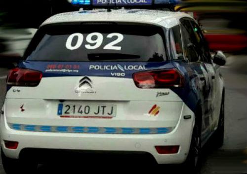 Arrestado en Vigo acusado amenazar con un cuchillo y pegar a su ex pareja de la que tenía una orden de alejamiento