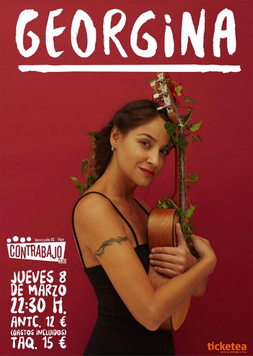 @georginamusica vuelve a Vigo con #laGeorGira, el próximo jueves, día 8 en El Contrabajo