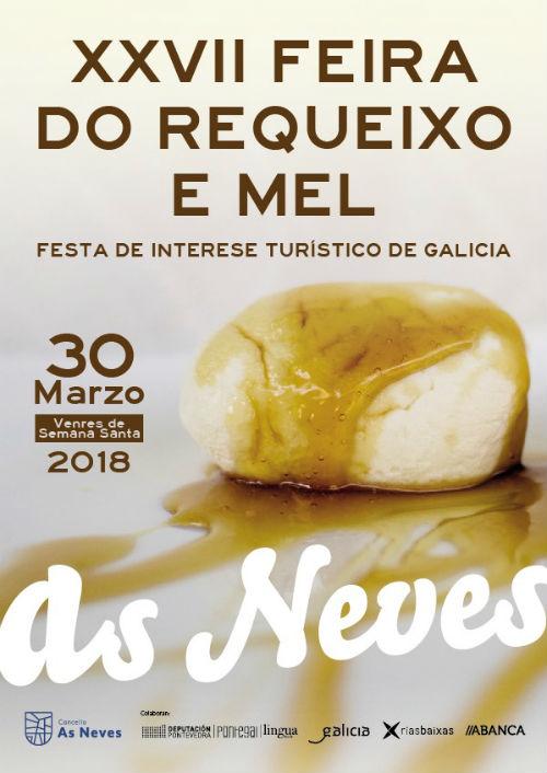 @AsNevesConcello inicia este xoves, día 22, a programación da 27ª Feira do Requeixo e do Mel