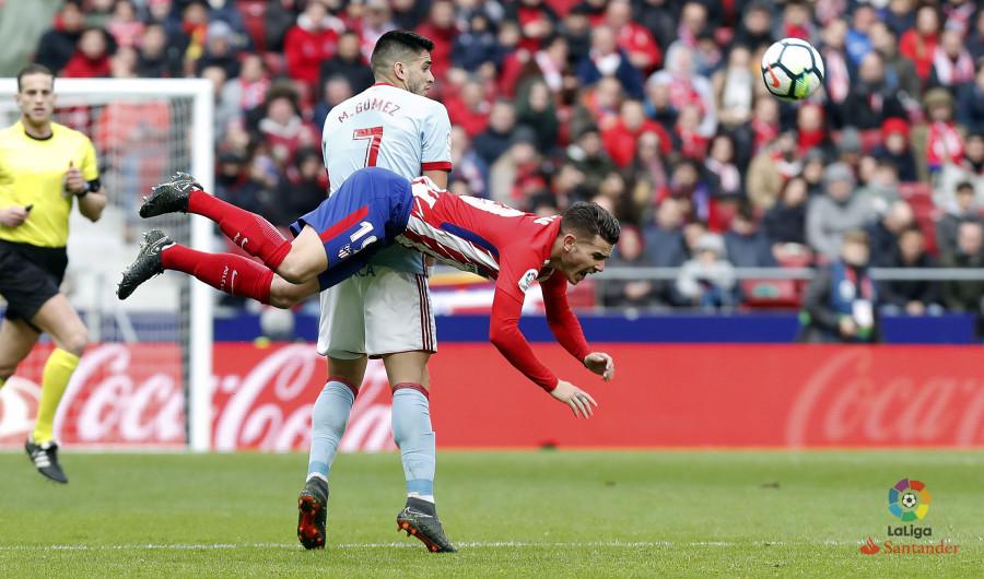 El Celta no pudo con el Atlético de Madrid en el nuevo Metropolitano (3-0)