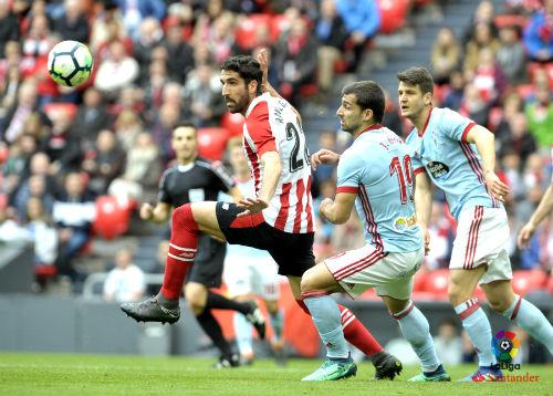 El Celta empata en Bilbao en el en último suspiro del choque ante el Athletic (1-1)