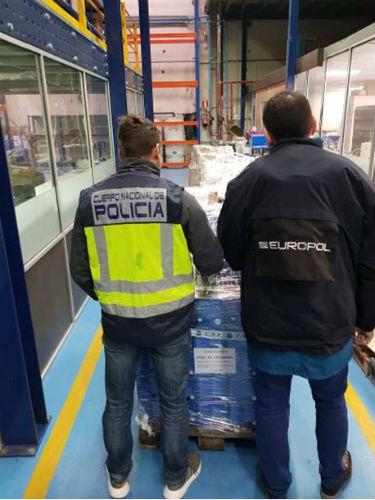 Detenidas seis personas por la distribución ilícita de contenidos audiovisuales y televisivos desde una empresa gallega