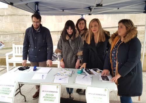 @PPdeVigo recoge firmas a favor de la pena de prisión permanente revisable