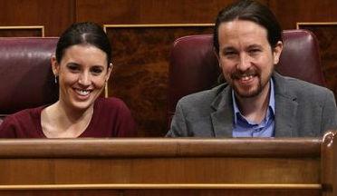 Pablo Iglesias e Irene Montero serán padres de mellizos en otoño