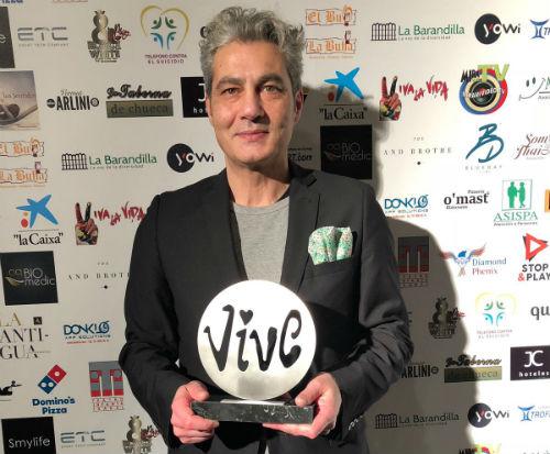 El trabajo del vigués Carlos Mañas sigue acumulando reconocimientos: ahora ha sido el premio nacional 'Te lo mereces 2018'