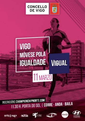 Apraza pola alerta de temporal a marcha 'Vigo móvese pola igualdade', prevista para o domingo
