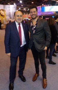 @mbarreiro_tve, el lucense que presenta el 'Tiempo' en TVE, pregonero este fin de semana en la Festa da Lamprea de Arbo