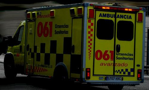Una mujer de 41 años herida tras ser alcanzada por un tren a su paso por Ourense