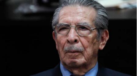 Muere a los 91 años de edad el asesino Ríos Montt