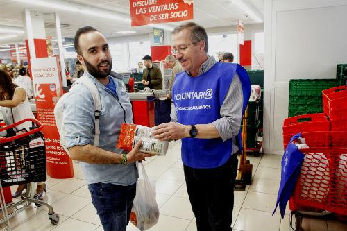 @BcoAlimentosVgo recogió unos 21.000 kilos de comida en el 'El Zampakilos Solidario' desarrollado en Vigo y Baiona