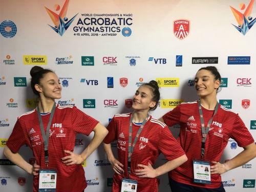 FlicFlac acaba el mundial de gimnasia acrobática con un sabor agridulce