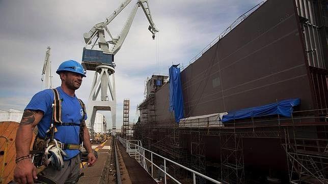 10 años de trabajo para 7.000 personas, eso asegura la Xunta que supondrá el contrato de Navantia para construir cinco fragatas