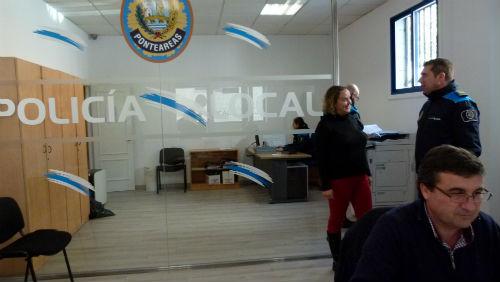 @ponteareas_gal reforma as dependencias da Policía Local mellorando o acceso aos cidadáns