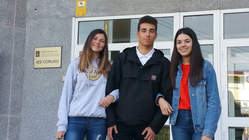 El IES Coruxo finalista de la Olimpiada Estadística Europea 2018