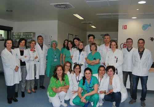 Sobresaínte para os profesionais da Unidade de Ciruxía Maior Ambulatoria Pediátrica do Cunqueiro