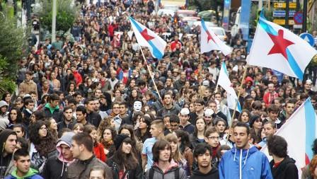 @En_Marea anuncia o seu respaldo ao paro convocado por estudantes galegos para o xoves, día 19