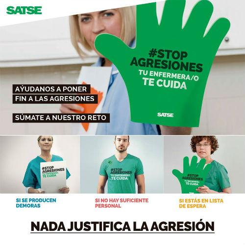 @SATSE_GALICIA alerta del aumento de agresiones a profesionales de Enfermería