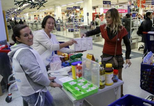 @BcoAlimentosVgo moviliza este viernes y sábado 230 voluntarios para la segunda edición de 'El Zampakilos Solidario'